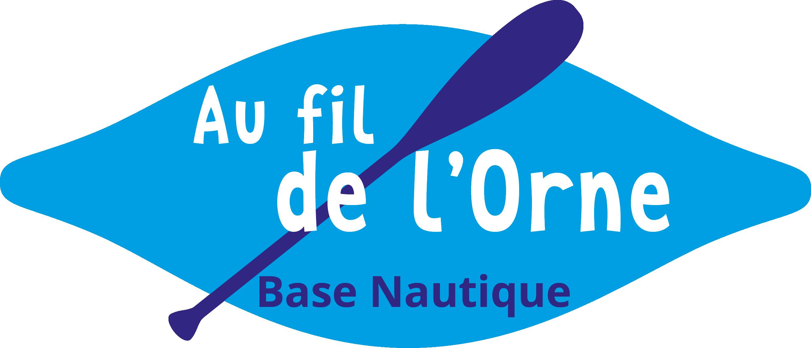 logo-au fil de l'Orne-base nautique-caen-normandie